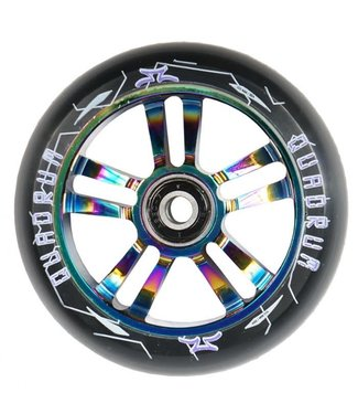 AO Quadrum Wheel Pair 100mm Oil Slick
