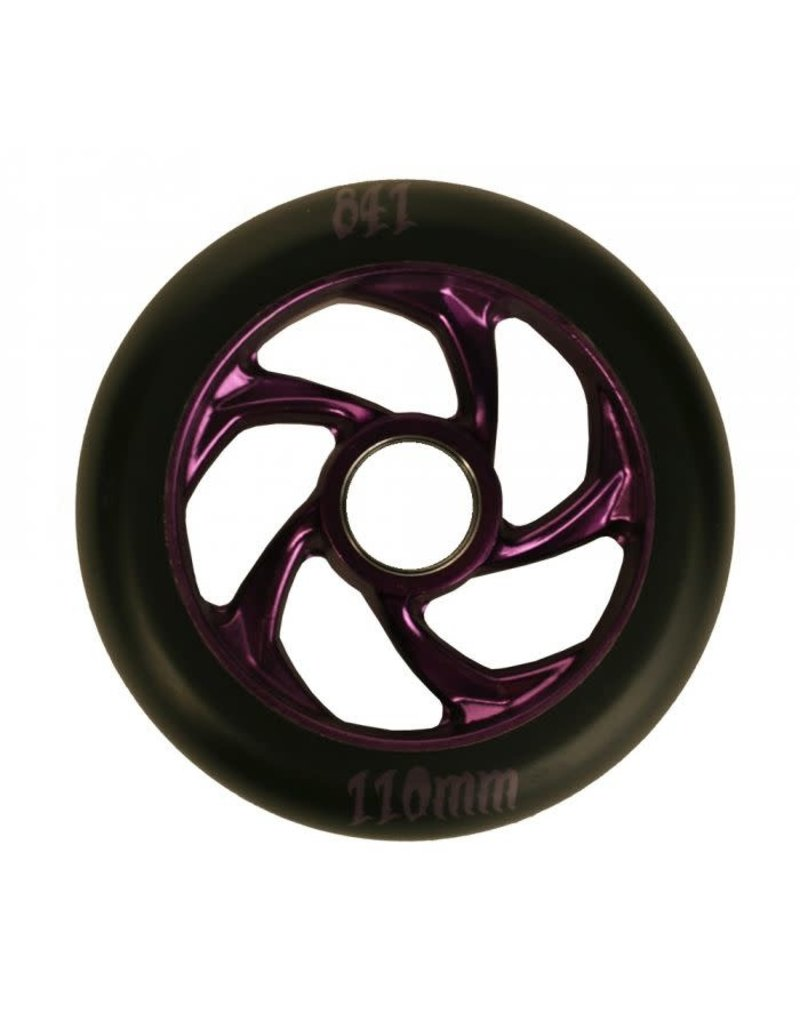 841 110mm Forged 5-Star Wheel Pair Purple