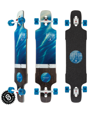 """Sector 9 Shallows Dropper Complete 9.625x41"""""""