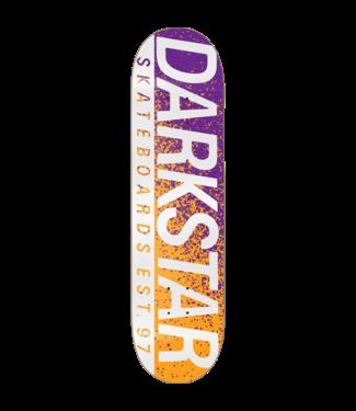 Darkstar Wordmark Deck 8.0 Silver / Gold / Purple
