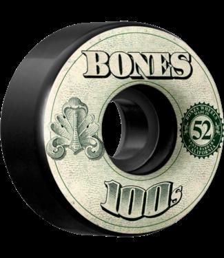 Bones 100's OG #11 V4 52mm Black w/ Money