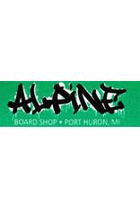Alpine Sticker Glitter Green/Black/White