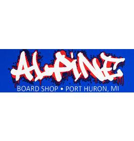 Alpine Sticker Blue/White/Red