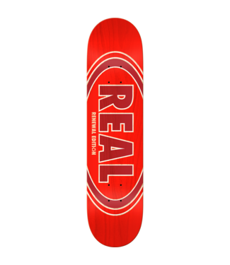 Real Oval Duofade Renewal Deck 8.06 Red