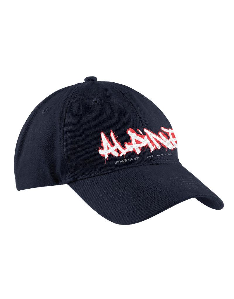 """Alpine Embroidered Dad Hat Black """"ALPINE"""""""