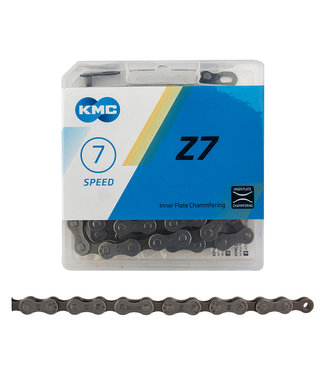 KMC Z7 Chain 6/7/8s Gray/Brown 116L