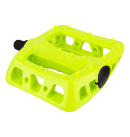 """Odyssey Twisted PC 1/2"""" Pedals Fluorescent Yellow"""