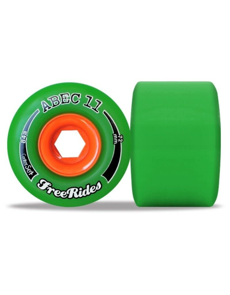 ABEC11 FreeRides 84A 72mm Wheels