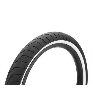 "Kink Sever Tire 2.4"" Black w/ White Wall"