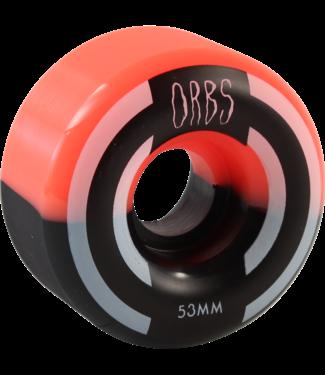Orbs Apparitions Split 53mm 99a Coral/ Black