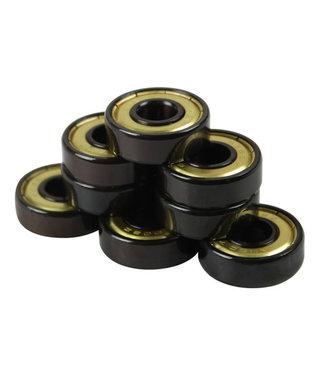 Bullseye Bearings - Abec 7 Gold Shields-Tube of 8
