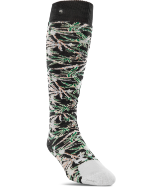 ThirtyTwo ThirtyTwo Sweet Leaf Socks White Size- S/M