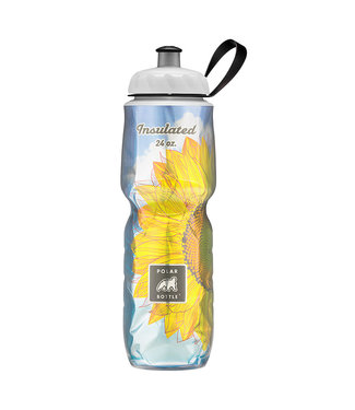 Polar Water Bottle 24oz Sunflower