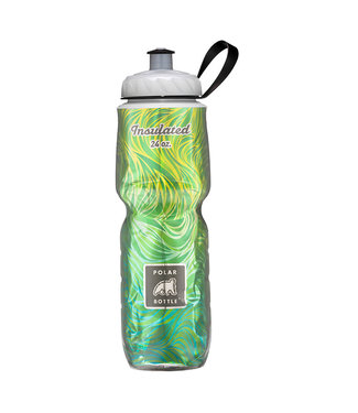 Polar Insulated Water Bottle 24oz Lemon Grass