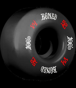 Bones 100's OG #12 V4 52mm Black w/ Red/ White