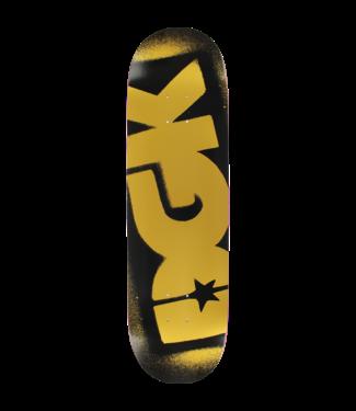 DGK OG Logo Deck 8.1 Black/ Gold
