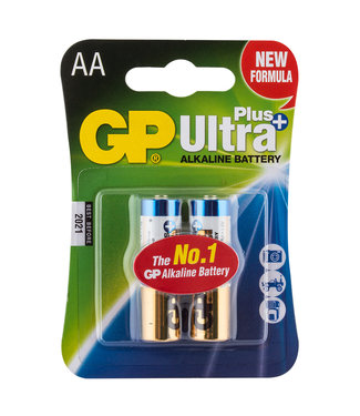 AA (2) GP Super Alkaline Battery