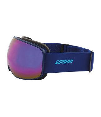 Gordini Gordini Lens Package 2 Goggle Yellow w/ Blue Mirror and Blue w/ Red Mirror
