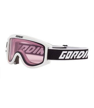 Gordini Gordini Starting Gate II Goggle Junior Series White (Gold)