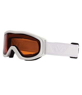 Gordini Gordini Crest Goggle Classic White (Gold)