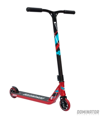 Dominator Action Sports Sniper Complete Scooter - Red / Black