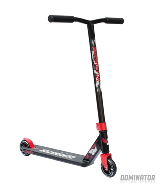 Dominator Action Sports Trooper Complete Scooter - Black / Red
