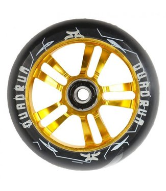 AO Quadrum Wheel Pair 100mm Gold