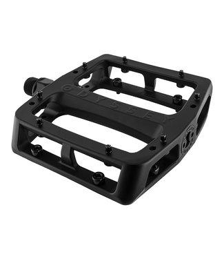 "Odyssey Grandstand Pedals - Platform, Aluminum, 9/16"", Black"