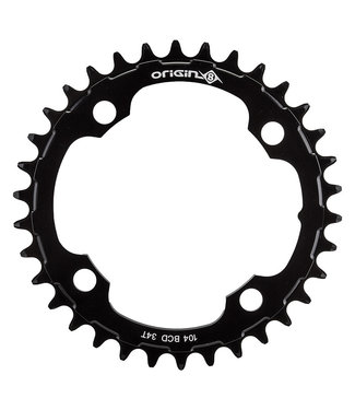Origin8 Chainring Holdfast 104mm 32T 10/11/12s 4 Bolt Black