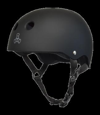 Triple 8 Helmet Rubber Black-L