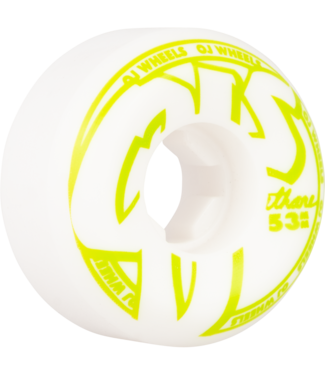 OJs From Concentrate Hardline 53mm 101a Wheels White