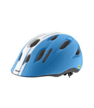 Giant Giant Hoot MIPS Youth Helmet OSFM Charcoal Race Blue