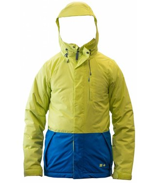 Ripzone Segment Jacket Green / Blue