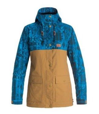 DC DC Cruiser Jacket Blue/Khaki