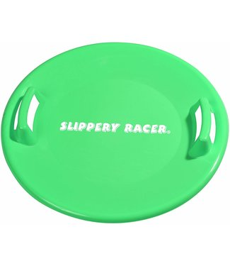 Slippery Racer Slippery Racer Downhill Pro Saucer Disc Snow Sled - Green