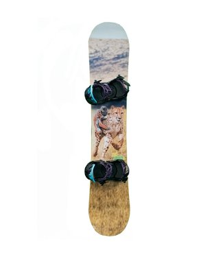 DC DC Biddy Snowboard Package Cheetah 147
