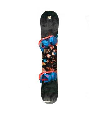 Burton Burton Joystick Snowboard Package Grey 157