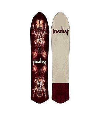 Marhar Marhar Woodsman Snowboard Deck Red 145