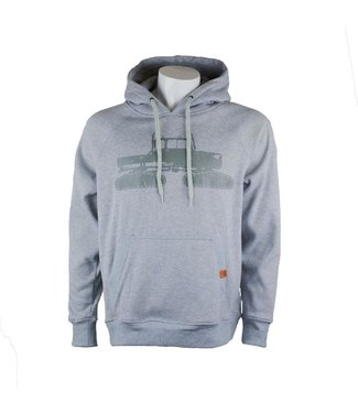 Spacecraft Spacecraft Snowcat Pullover Hoodie Gray