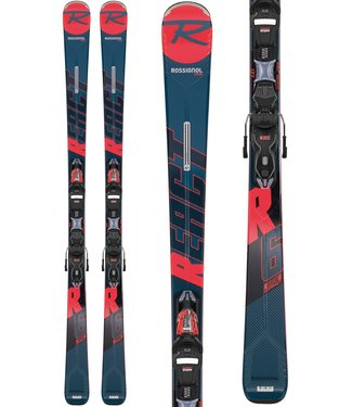 Rossignol Rossignol React R6 Compact/XP11Ski GW Black/Red 170