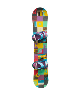 Burton Burton Feather Snowboard Package Colors