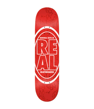 Real Stacked Floral Deck 7.75 Red