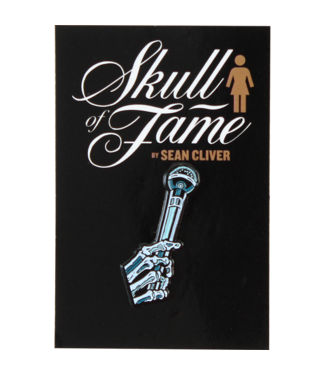 Girl Skull Of Fame Enamel Pin