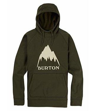 Burton Burton Crown Bonded Pullover Hoodie Night Rider Sport Dark Forest