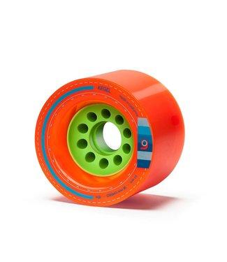 Loaded Orangatang Kegel 80mm Wheels Orange (80a)