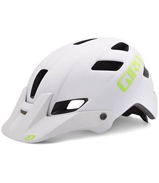 Giro Feature Matte White/Lime M 16 US