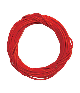 Sunlite Brake Cable housing w/Liner 5mmx50ft Red Single