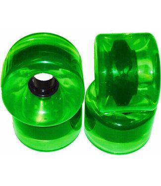 Blank 76mm Wheels Verde