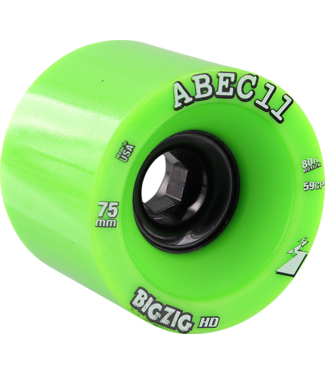 BigZig Wheels 76mm 83a Neon Verde