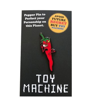 Toy Machine Pepper Lapel Pin
